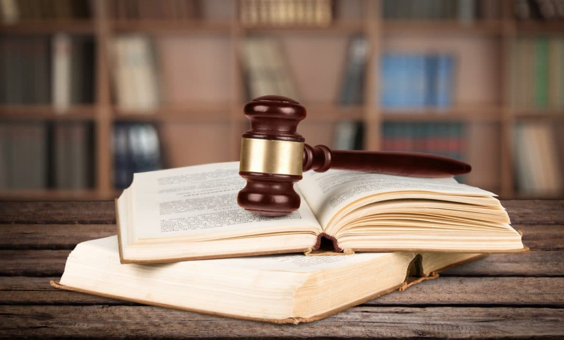 Image of law book and gavel